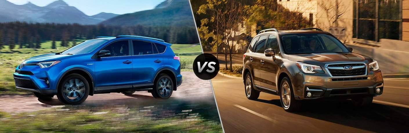 RAV4 vs Forester