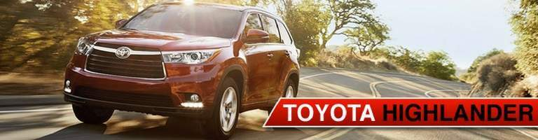 2017 toyota highlander and 2018 toyota highlander in lexington ma