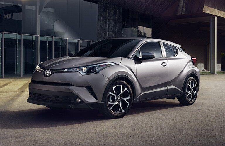 gray Toyota C-HR