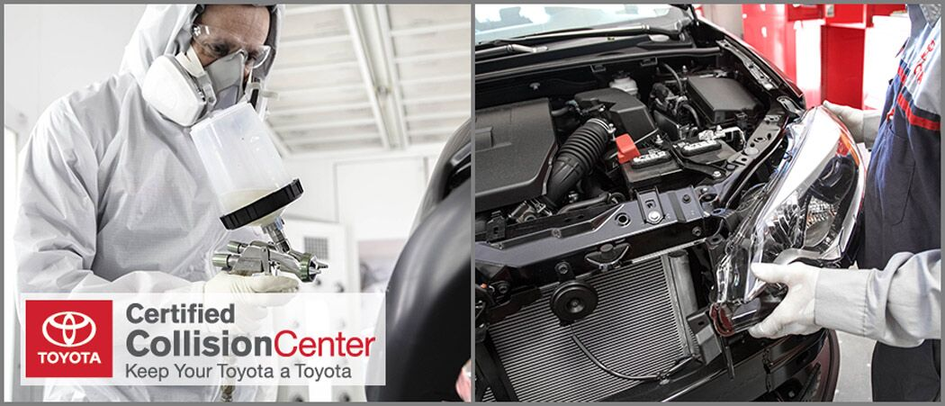 Toyota Certified Collision Center in Lexington, MA