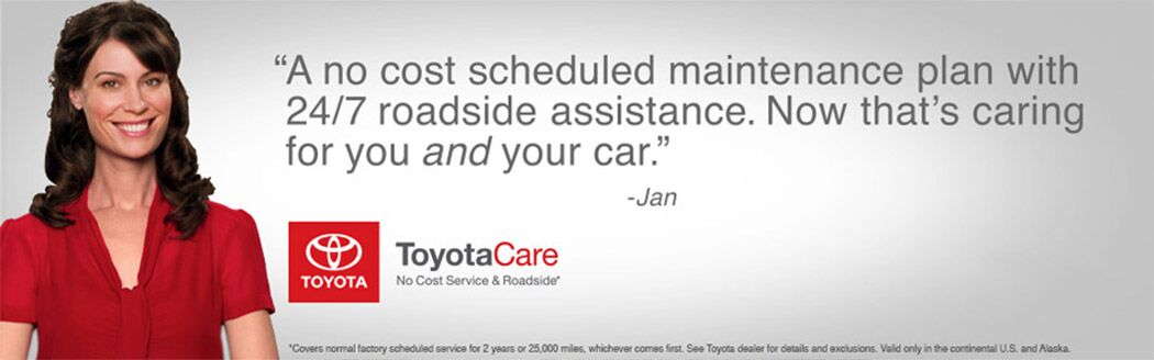 ToyotaCare in Lexington, MA