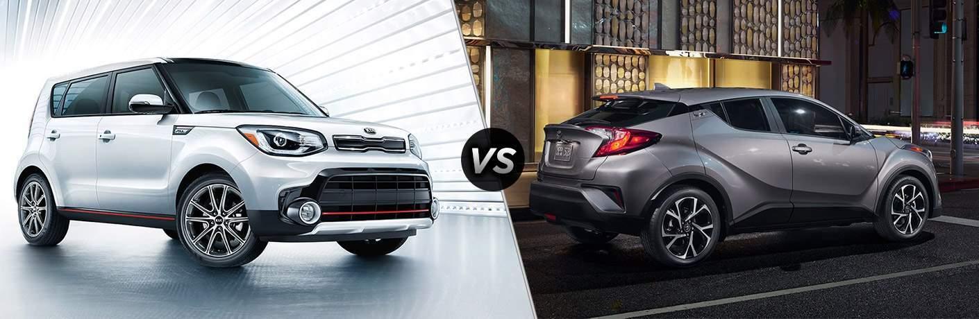 2018 Kia Soul vs 2018 Toyota C-HR