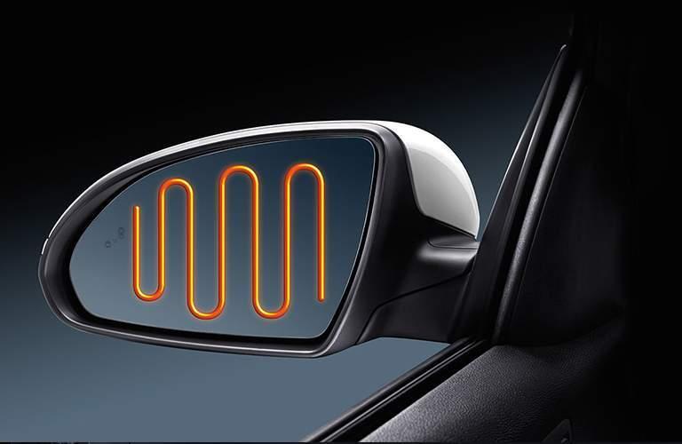 heated mirrors in the 2018 Kia Optima