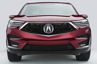 2019 Acura RDX Front Grille & LED Headlights