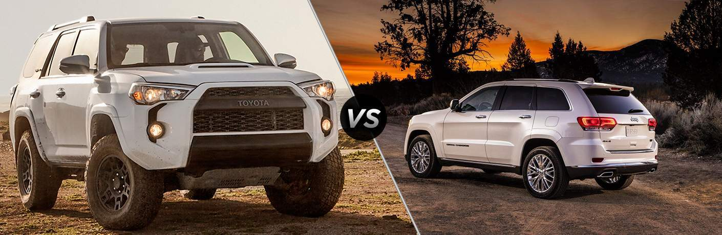 2017 Toyota 4Runner vs 2017 Jeep Grand Cherokee