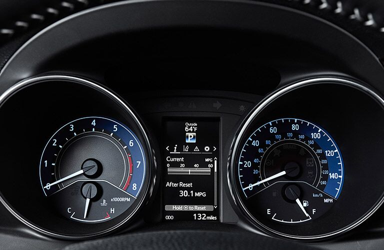 2017 Toyota Corolla instrument panel