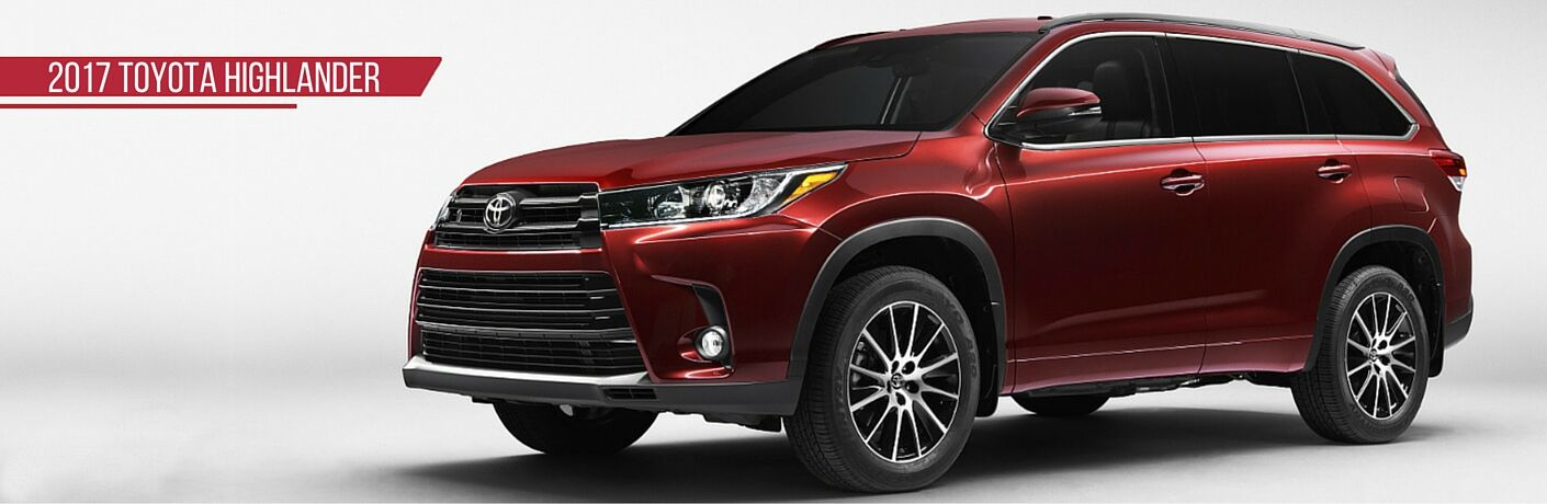 2017 Toyota Highlander color option
