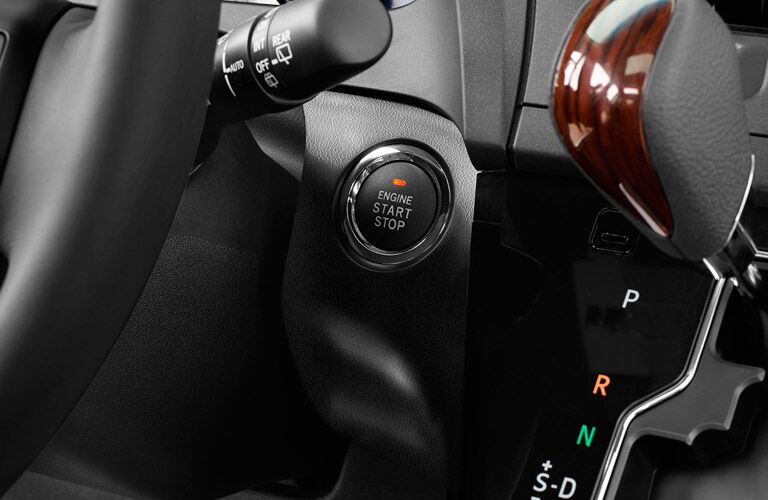 2017 Sienna push button start
