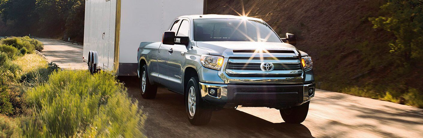 2017 Toyota Tundra towing trailer