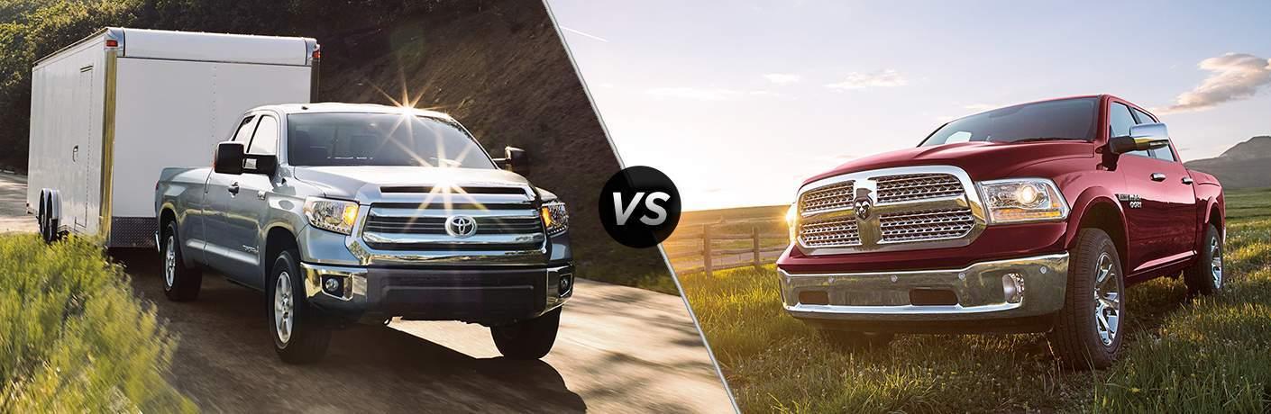 2017 Toyota Tundra vs 2017 RAM Tradesman