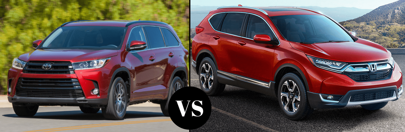 2017 Toyota Highlander vs 2017 Honda CR-V