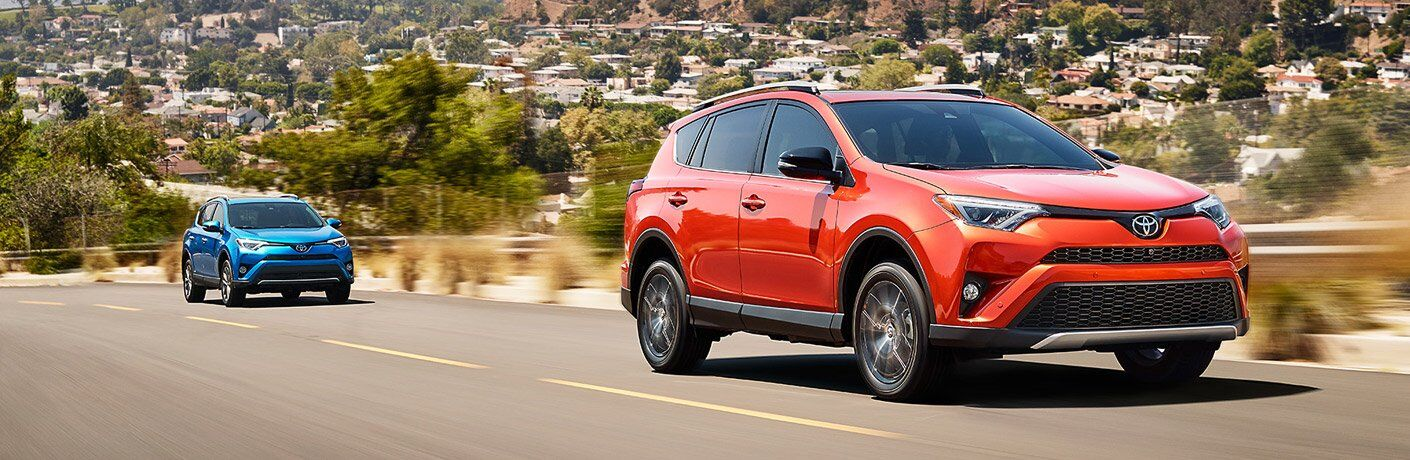 2017 Toyota RAV4 Hybrid color options