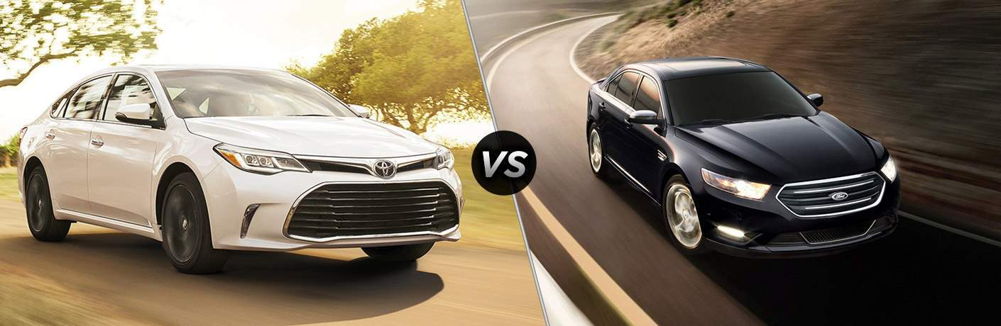 2018 Toyota Avalon vs 2017 Ford Taurus