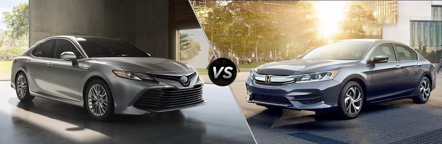 2018 Toyota Camry vs 2017 Honda Accord