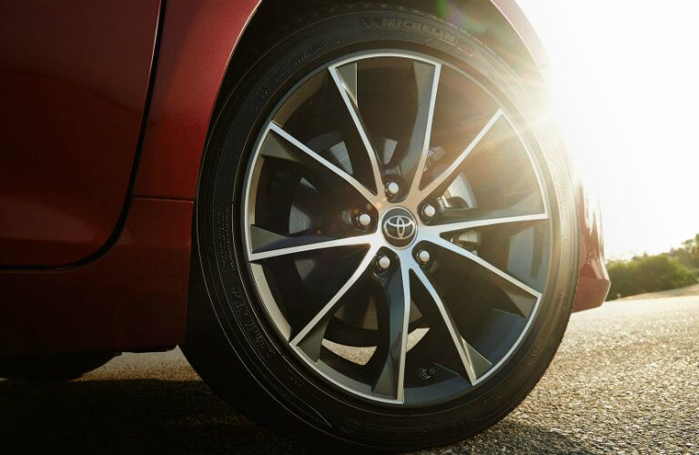 2017 Camry 18 inch alloy wheels