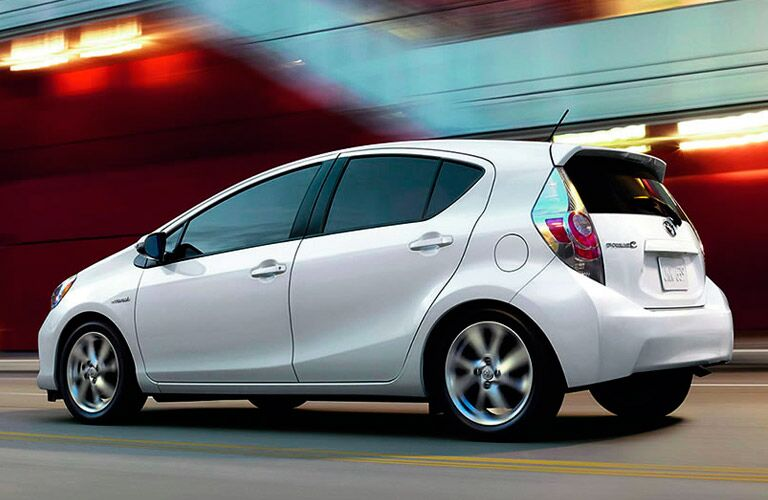 A photo of a pre-owned Toyota Prius C.