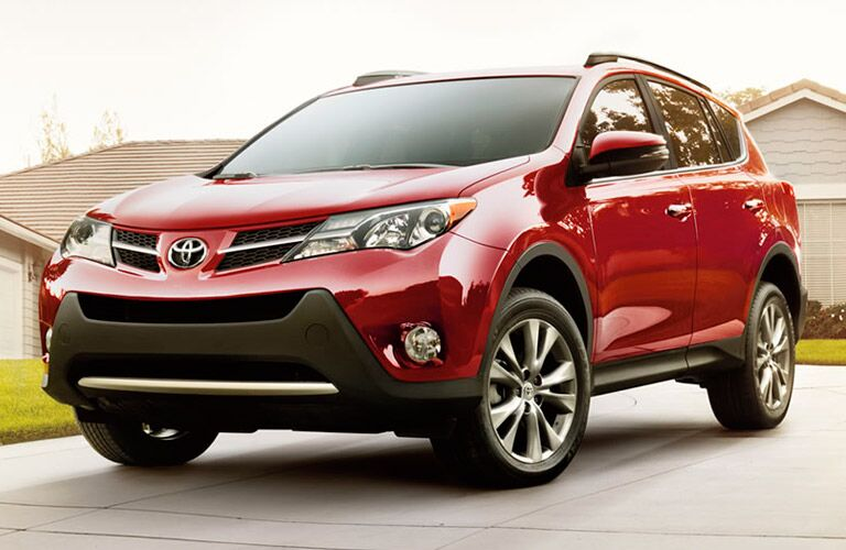 A photo of a pre-owned Toyota RAV4.