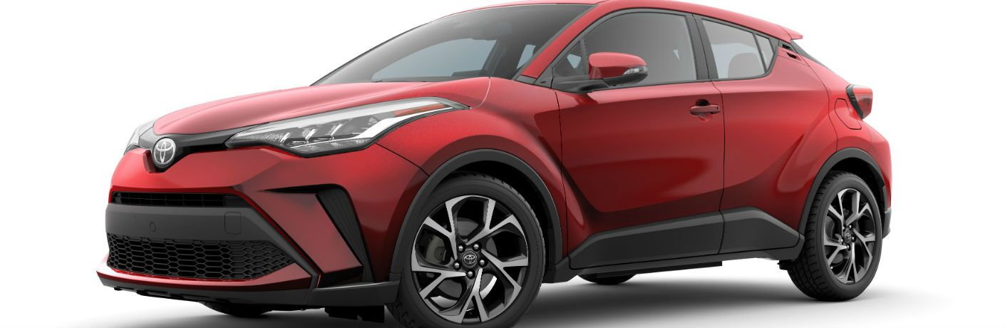 A front left quarter photo of the 2020 Toyota C-HR.