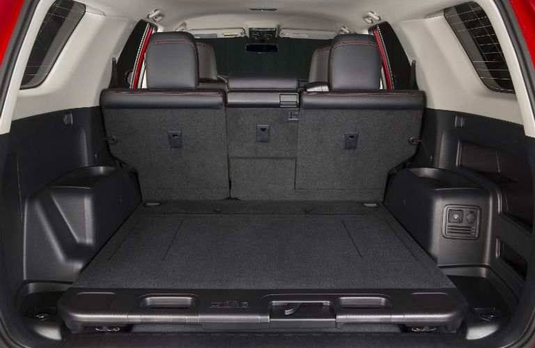 A photo of one of the cargo configurations in the 2019 4Runner.