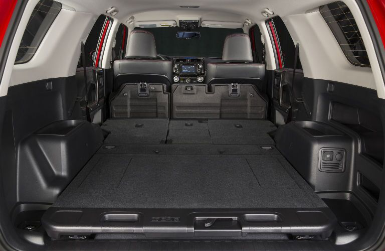A photo of the cargo space available in the 2019 Toyota 4Runner.
