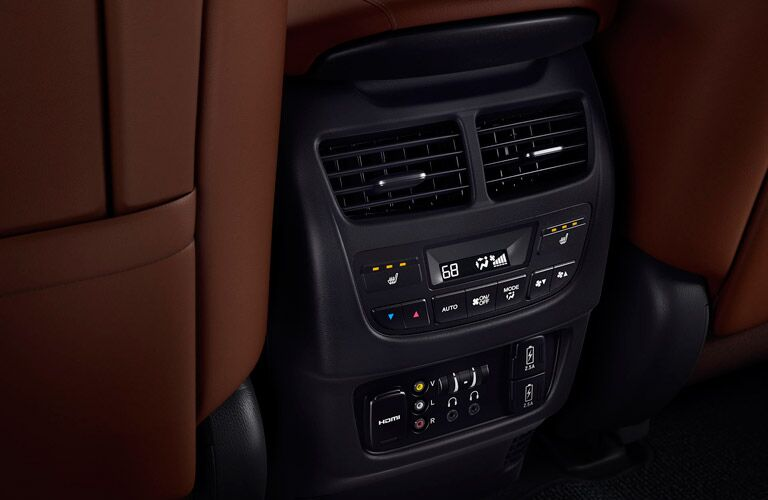 2017 Acura MDX air conditioning system