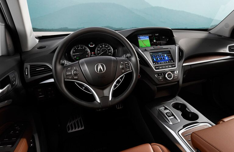 2017 Acura MDX interior material