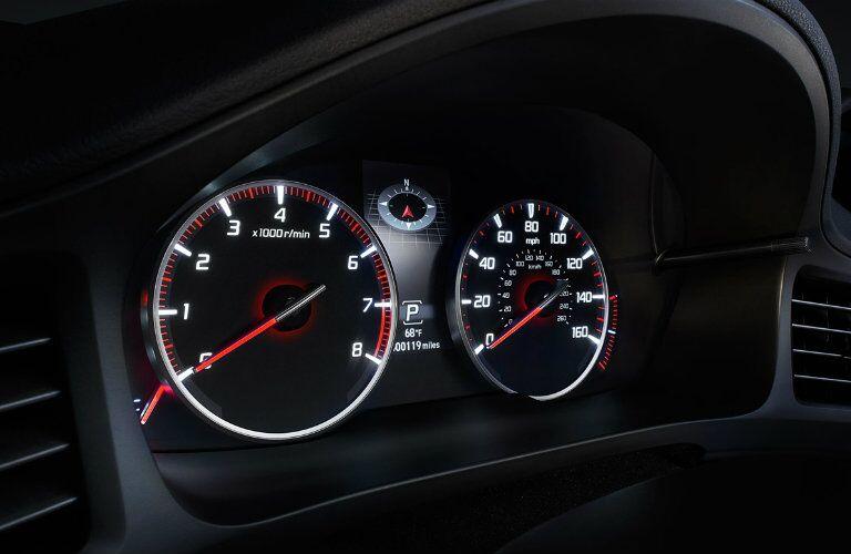2017 Acura ILX speedometer