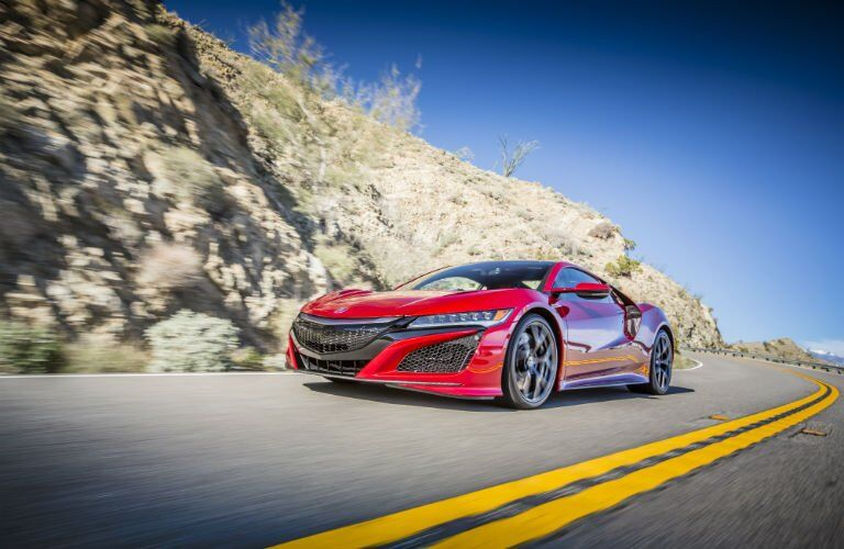 2017 Acura NSX front grille design