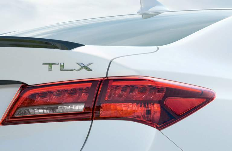 2018 Acura TLX Tail Lights and Badge