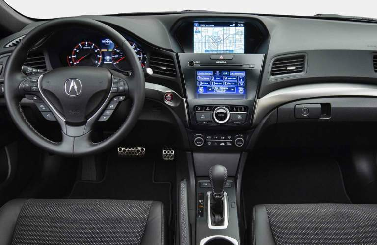 Command Center Inside the 2018 Acura ILX