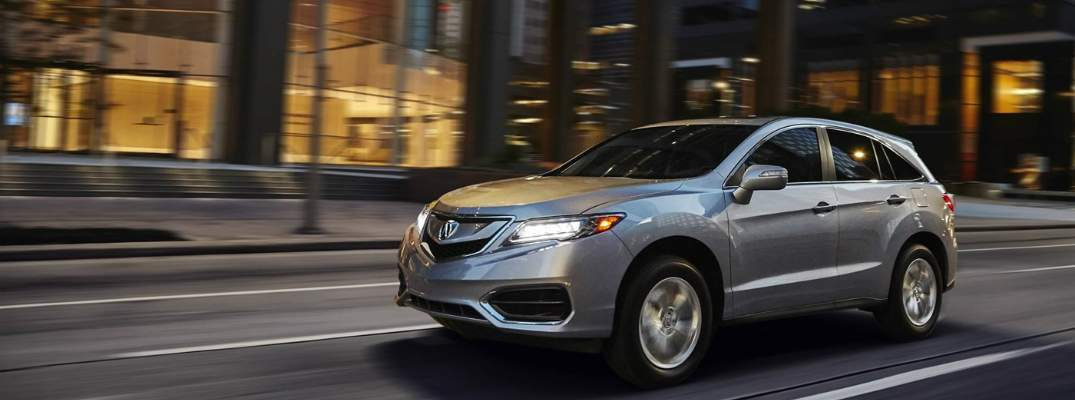 Interior Cargo Space in the 2018 Acura RDX