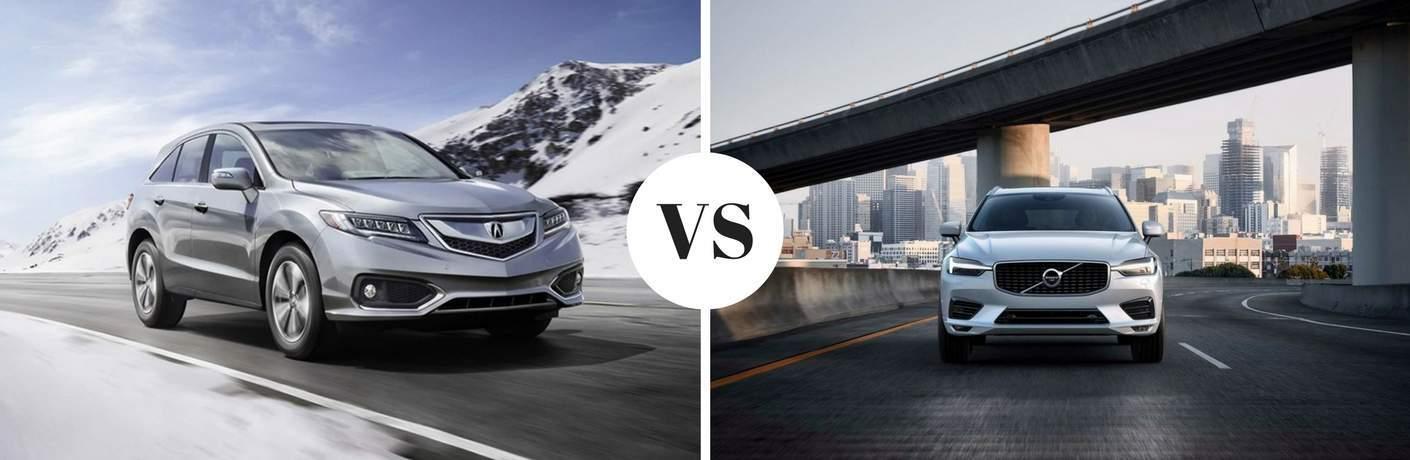 2018 Acura RDX vs 2018 Volvo XC60
