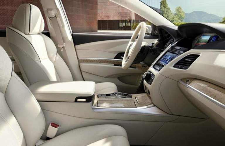 2018 RLX Front Seats