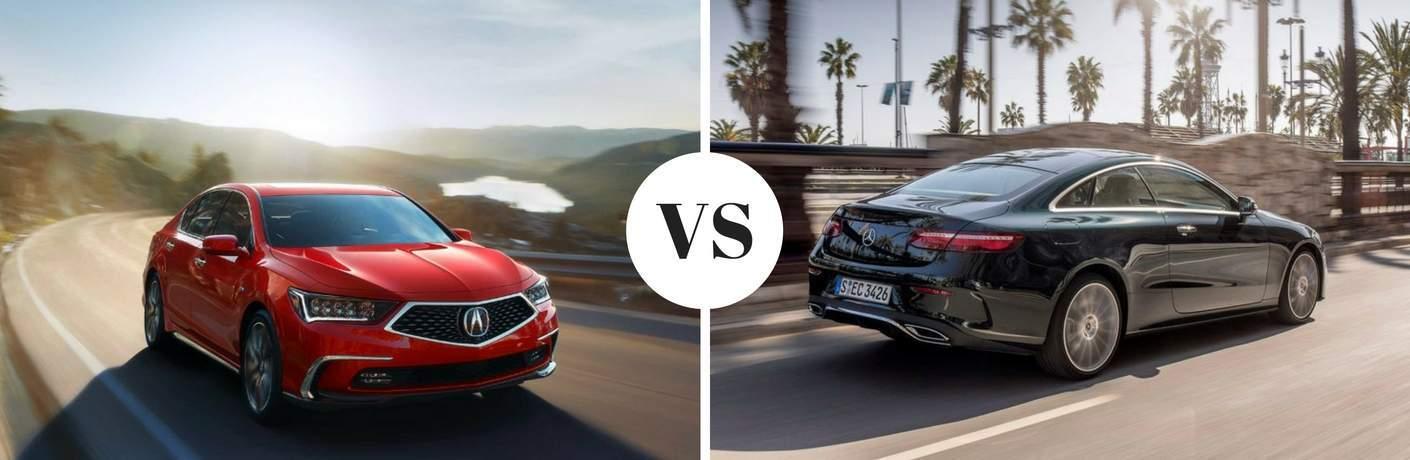 2018 Acura RLX vs 2018 Mercedes-Benz E-Class