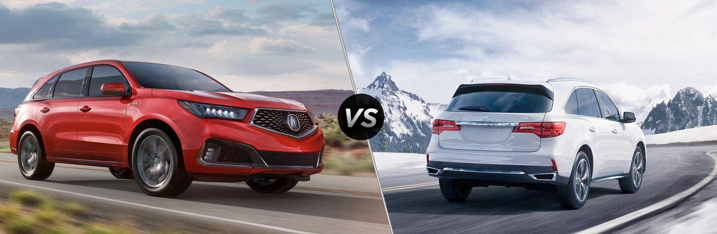 2019 Acura MDX vs 2018 Acura MDX