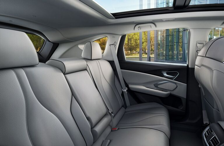seating inside of a 2019 Acura RDX