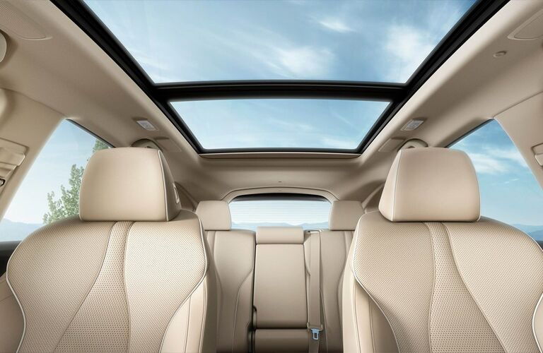 sun roof inside of a 2019 Acura RDX