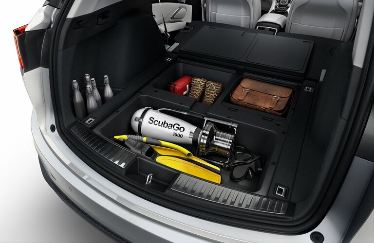 cargo space inside of a 2019 Acura RDX