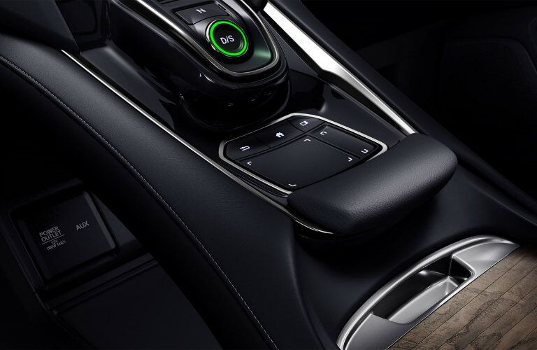 Center console and gear shifter of 2019 Acura RDX