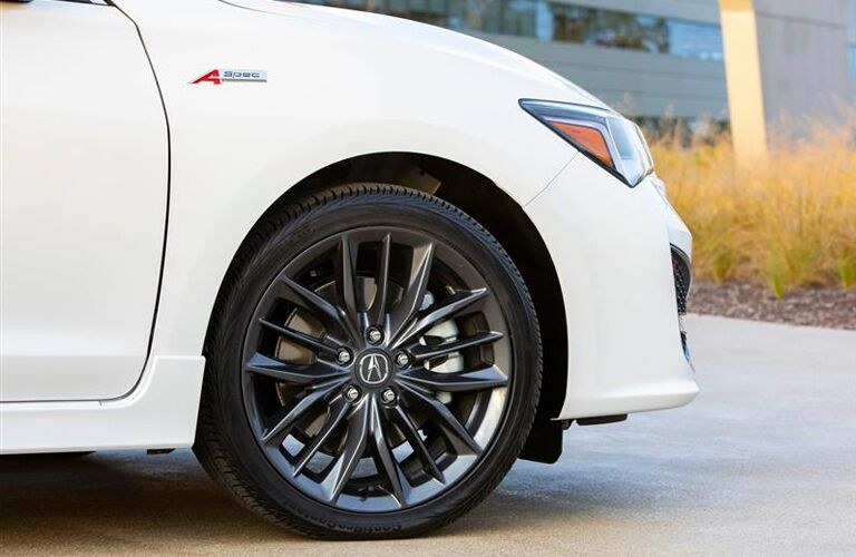 2020 Acura ILX close up on a front tire