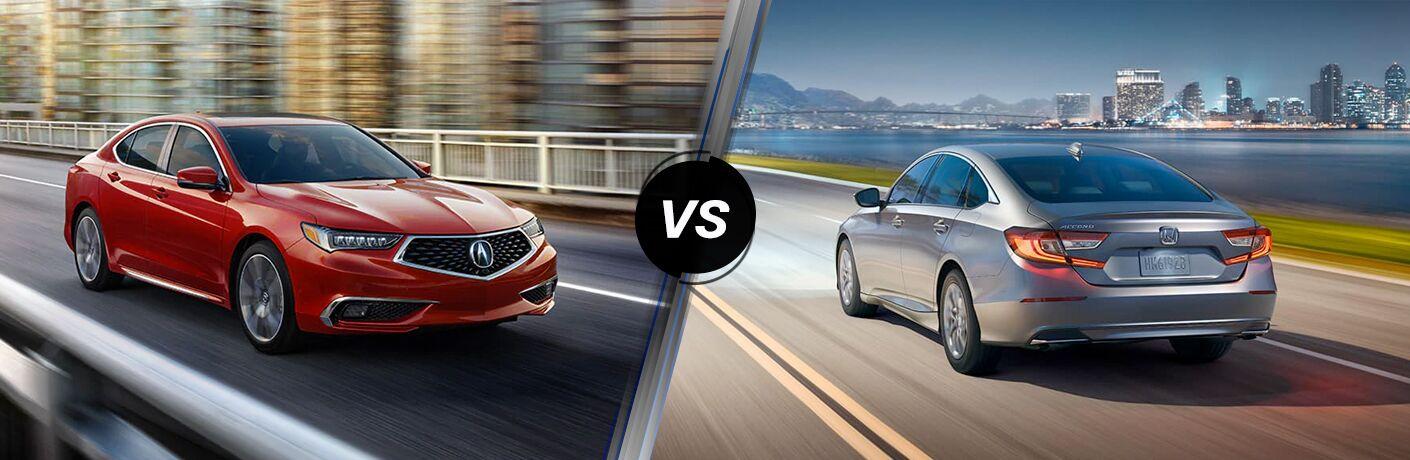 2020 Acura TLX vs 2020 Honda Accord