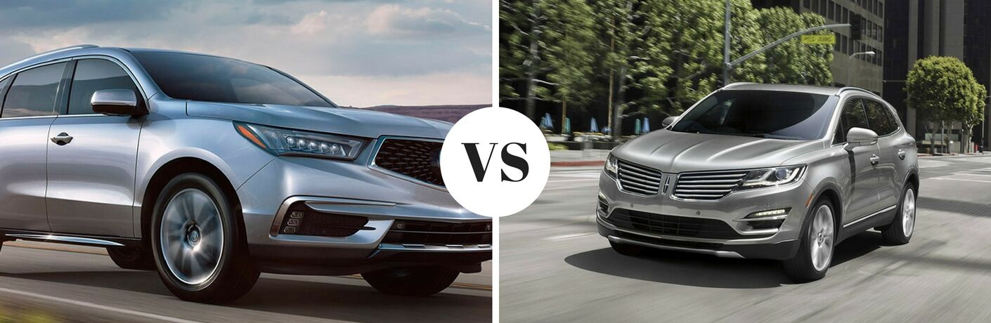 2017 Acura MDX vs 2017 Lincoln MKC