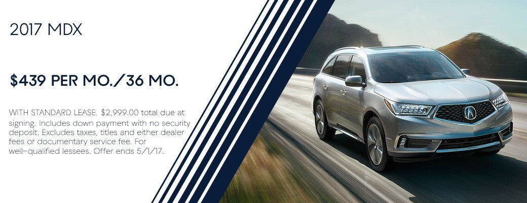 2017 Acura MDX Lease offer Santa Fe NM