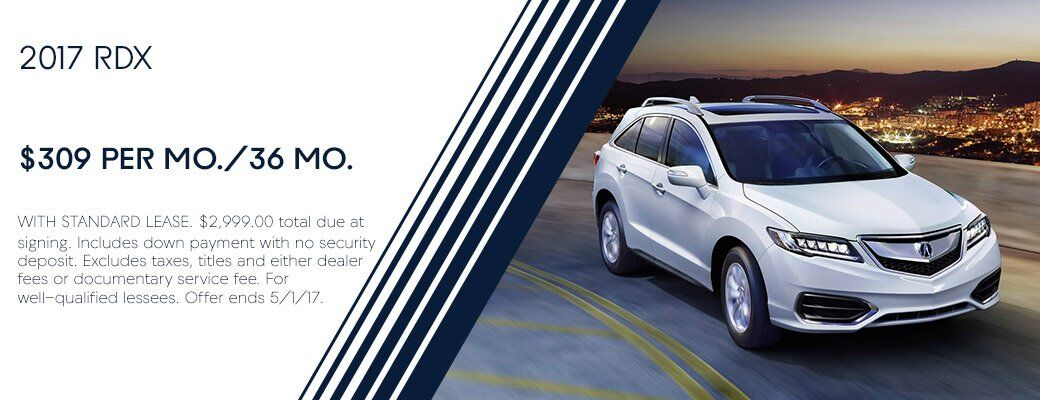 2017 Acura RDX Lease Offer Albuquerque NM