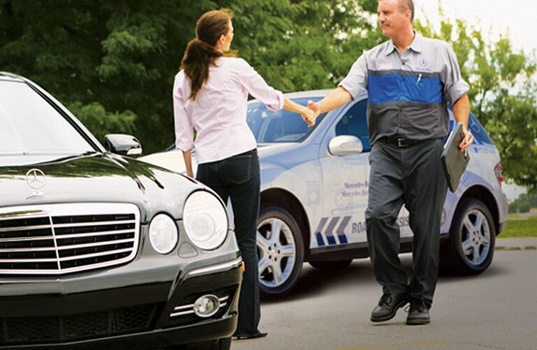 Mercedes-Benz Roadside Assistance Towing