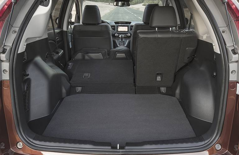 Used Honda CR-V rear cargo area