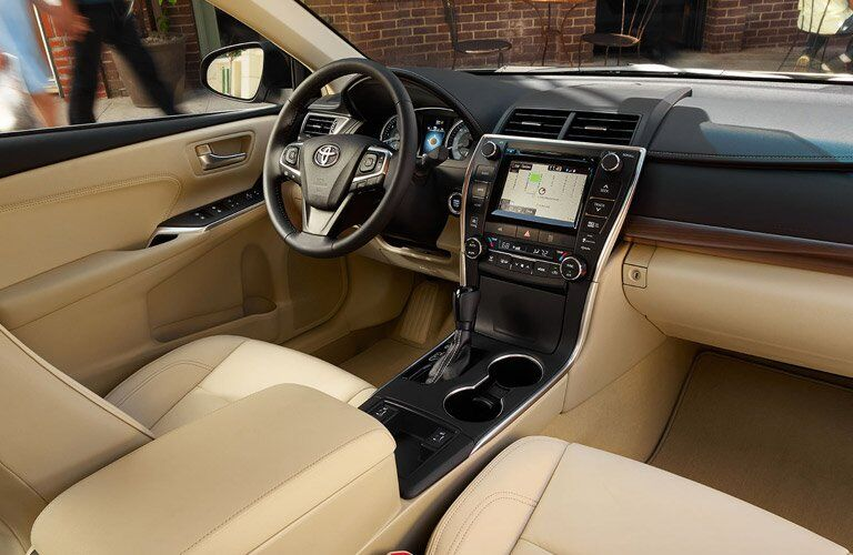 Used Toyota Camry interior overview