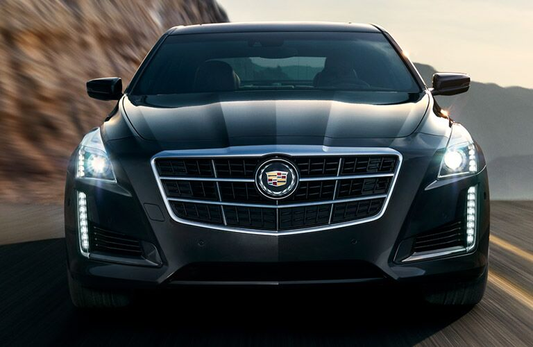 2017 CTS front exterior shot
