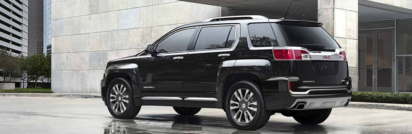 2017 GMC Terrain exterior back fascia and drivers side
