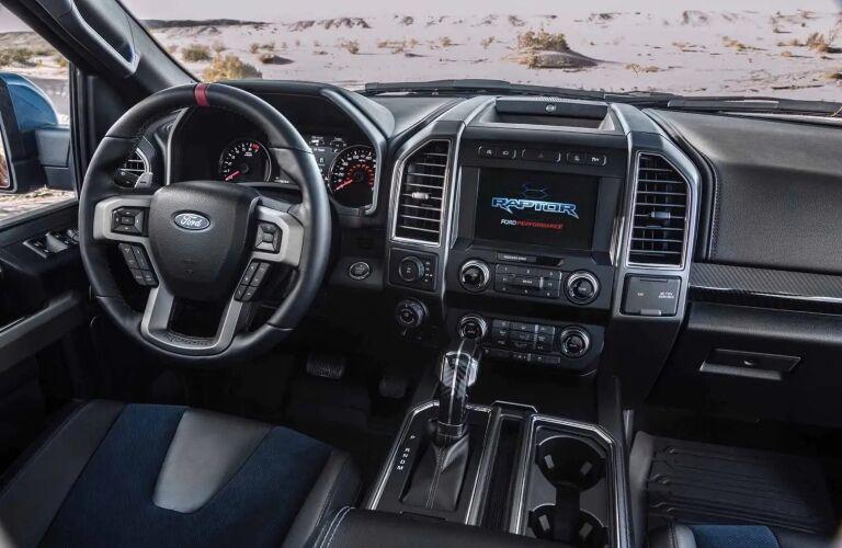 2019 Ford F-150 Raptor Dashboard